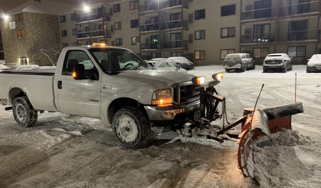 Commercial Snow Plowing Rogers MN