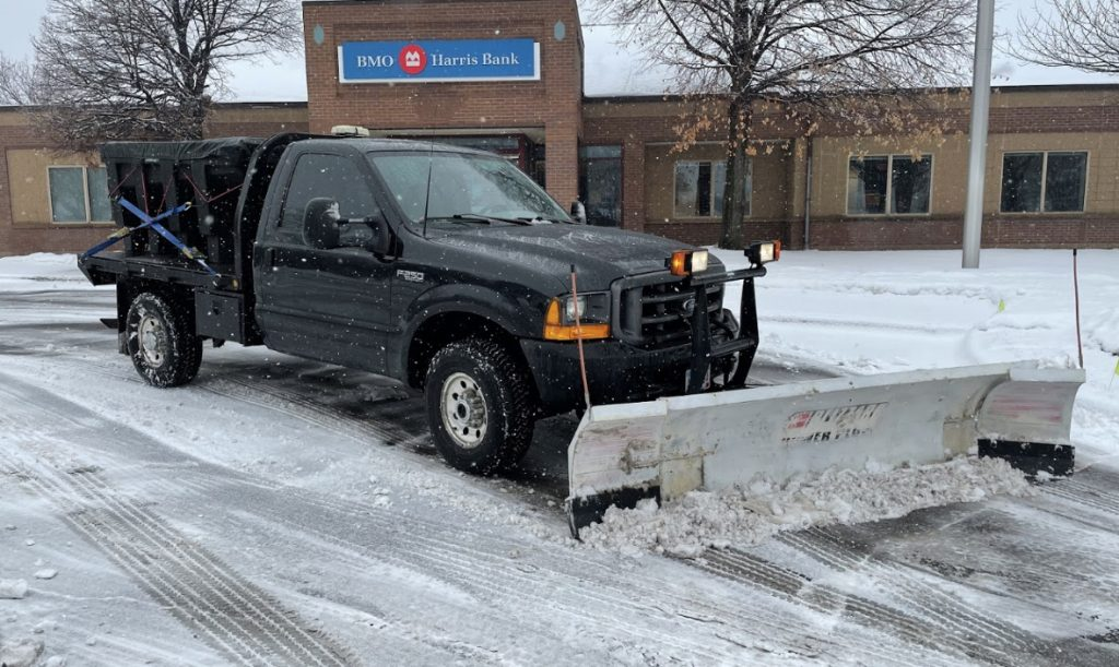 commercial snow removal in Rogers MN