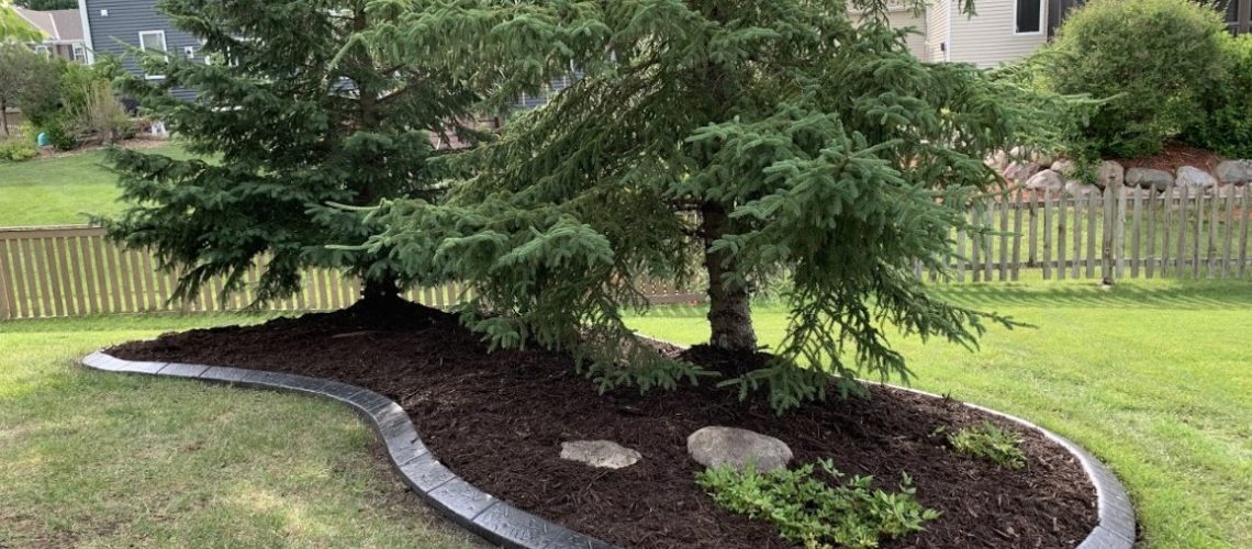 landscape renovation and installation Rogers MN